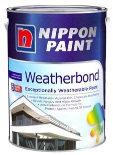 NIPPON PAINT WEATHERBOND 5L