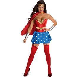 Wonder Woman Costume Adult Sexy Dress Roma Heroine Hottie Captain Hero America Halloween Costumes Su