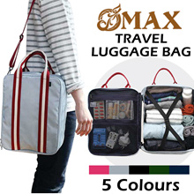 OMAX travel bag/large capacity/suits/clothing package/men and women/shoulder bag/High quality canvas