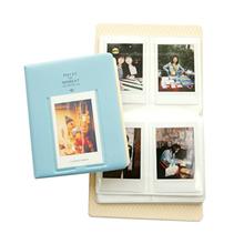 64 Pockets Photo Album Case For Fujifilm Mini8 Instax 7s 25 50s 90 Polaroid Blue Novelty Gift