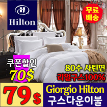 Giorgio hilton Goose Down  duvets /5 star hotel bedding / packing 95% goose down 5% feather /