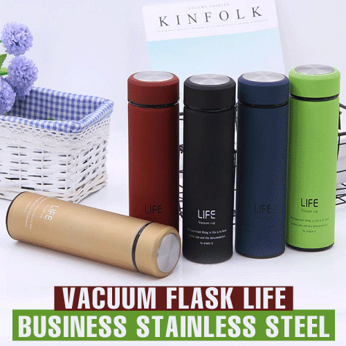 Termos LIFE Business Vacuum Flask Stainless Steel Botol Deals for only Rp30.000 instead of Rp30.000