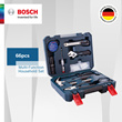 [Official E-Store] Bosch 66pcs Multi-Function Household Set