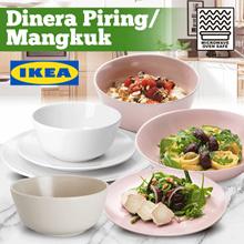 IKEA OFTAST Piring Mangkuk / DINERA Piring Mangkuk