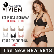 ★Korea No.1 Brand★2018 NEW PRODUCT BR5818 /  wireless Volume BRA / Side Slimming BRA / High Quality
