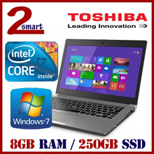 Refurbished Toshiba Portege Z30-A Laptop /13.3 Inch/ Intel i7/8GB RAM/ 250GB SSD/1mth Warranty
