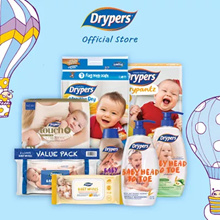 [Use Coupon][Free Shipping][Drypers Official Store] Wee Wee Dry /Touch/Drypantz/Diapers/Tape / Pants