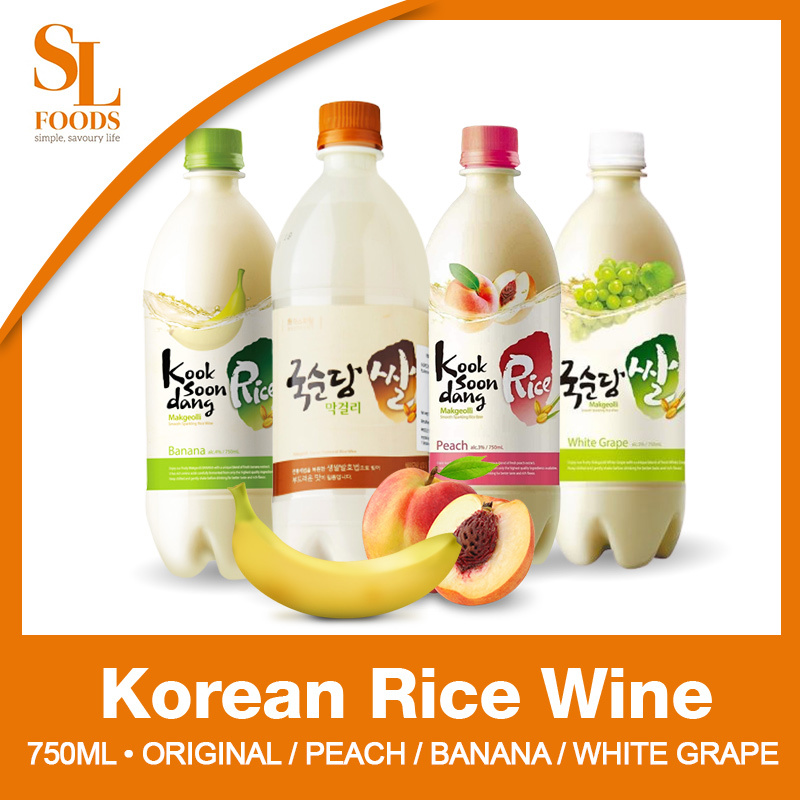 Qoo10 Kooksoondang Korean Rice Wine 750ml 3 Flavours Korean Food