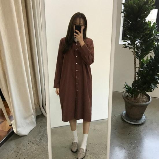 チョアジたらンナイトロンリシャツ、ワンピース シフォン/レースのワンピース/ 韓国ファッション