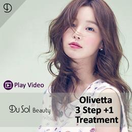 ★ OLIVETTA 3 STEP + 1 TREATMENT PACKAGE ★ E-SERVICE VOUCHER ★ KOREAN HAIR SALON ★