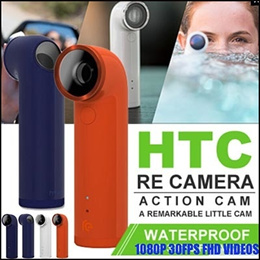 {HTC RE ACTION} RE Camera lens E610 HTC RE Wireless Camera Waterproof Camera HTC As A Shadow