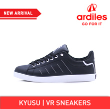 [Ardiles] Kyusu Men Sepatu Sneakers - Hitam Silver