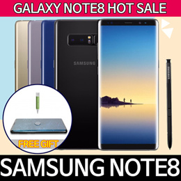 Samsung Galaxy NOTE8 Free gift Free shipping/Used Phone/Fast charger protectfilm