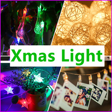 Buy 2 Free 1 - Xmas ★ Led Fairy Light ★ For Party Wedding Decorations With Battery Operate