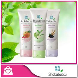 Buy 2 at $6.80 [Shokubutsu] Radiance Facial Foam (Brightening / Moisturizing / Vitalizing)