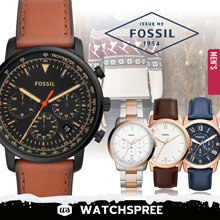 abed2d3c4742  APPLY 25% OFF COUPONS  Fossil Leather and Stainless Steel Watches for Men!