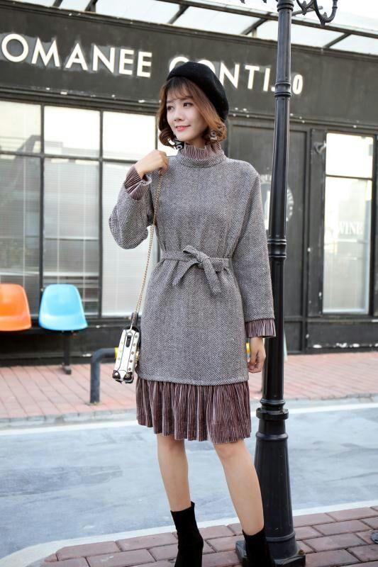 ※送料無料!♥高品質♥韓国ファッション♥OL、正式な場合、礼装ドレス♥