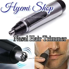 [HYEMI SHOP]♥ Nasal Hair Trimmer. Nose Ear Extra Growth Out Hair Shaver Trimmer. Safety. Nose Hair Trimmer. Cut. Shave. Facial.