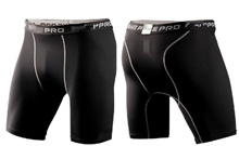 Men Sports Soccer Basketball inner pants Pro Combat