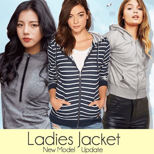 New Collection Branded Ladies Active Wear 3 Colors - Sport Jacket - Jaket Wanita