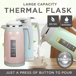 SG LOCAL★ WorthBUY★Thermal Flask ★Vacuum Jug ★Stainless Steel ★Water Bottle ★Mug ★Cup Thermal Flask★