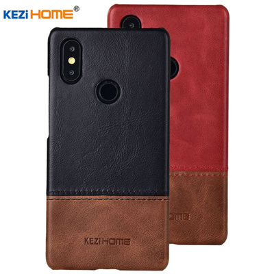 Case for Xiaomi Mi Max 3 Max 2 Luxury Hit Color Genuine Leather Hard Back Cover