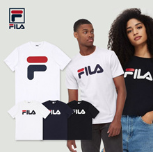 [FILA] 6 Type Unisex Regular fit  T-shirts / Cap / Shoes 100% Authentic