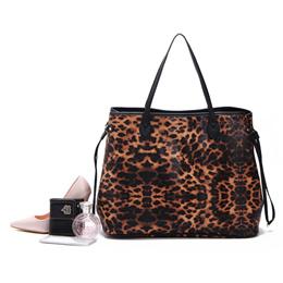 a641e14c3eac European brand custom Leopard print handbag Joker baodan shoulder-slung fashion  handbags