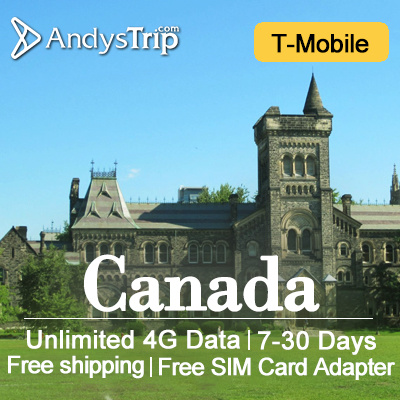 T-mobile?Canada Prepaid Sim Card? Unlimited Data up to 30 Days+Unlimited 4GLTE data/local calls/SMS Deals for only S$80 instead of S$0