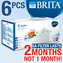 BRITA Maxtra Filter  (6/box)  2 MONTHS EACH [Germany | Switzerland]