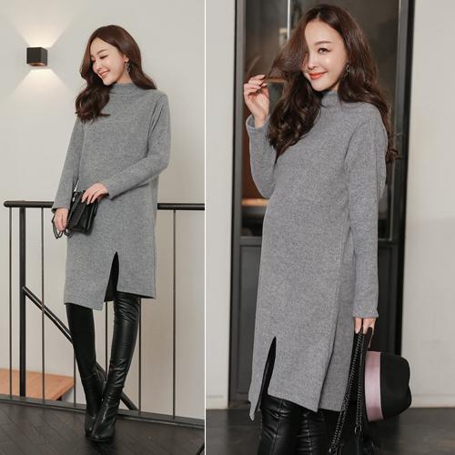 [SOIM] 韓国の高級ワンピース / フリーサイズ / ♥体型カバーになる♥ / 冬ワンピース / 暖かいワンピース / ファッション妊婦服 / 韓国大人気 / 一般女性の着用可能