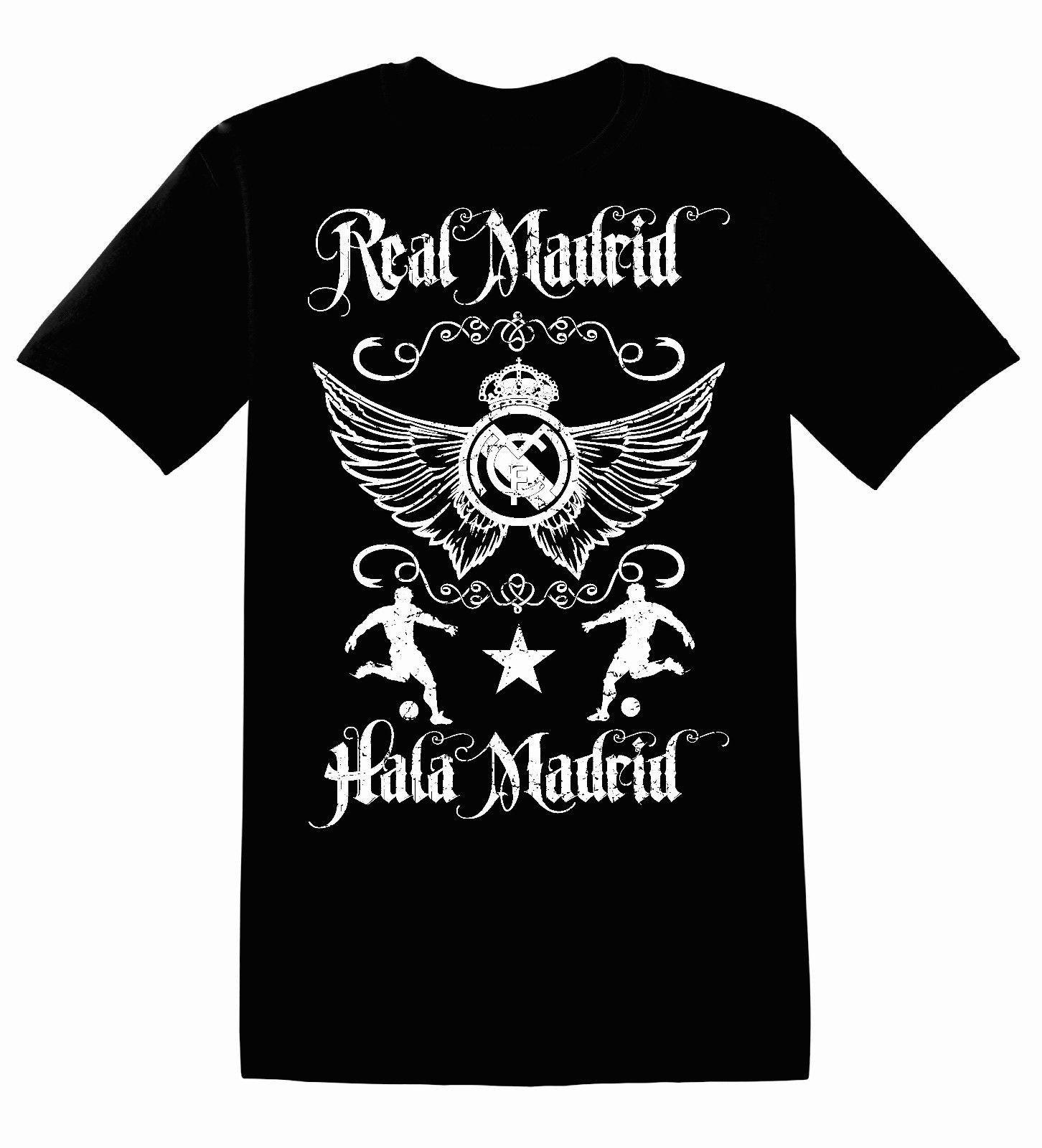 c245c1eeb actual size. prev next. Real Madrid De Espana Spain Futbol Soccer Mens  T-Shirt ...
