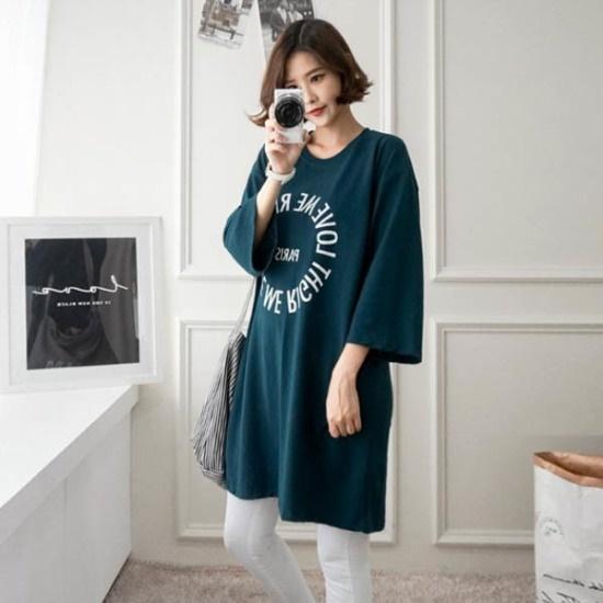 ピンクシスレーパティスィワンピース 綿ワンピース/ 韓国ファッション