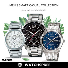 [CHEAPEST PRICE IN SPORE] *CASIO GENUINE* MENS SMART CASUAL WATCHES!  Free Shipping!