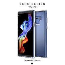Samsung Galaxy Note 9 Case Crystal Clear Reinforced Corners TPU Bumper Cushion for Galaxy Note 9