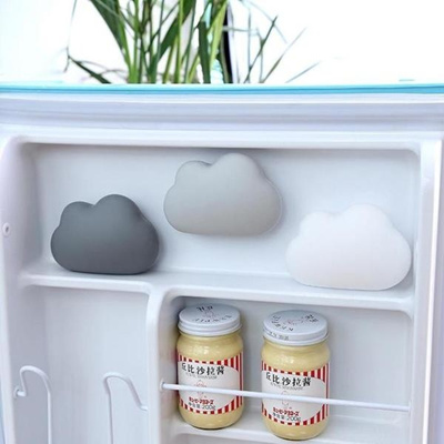 Cloud Shape Refrigerator Fragrance Box Fridge Activated Bamboo Charcoal  Deodorant Air Purifier Odors