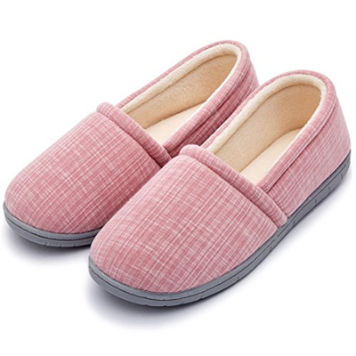 a3c31d8af90 Qoo10 - Cozy Niche Women s Knitted Vertical Stripe Shoes