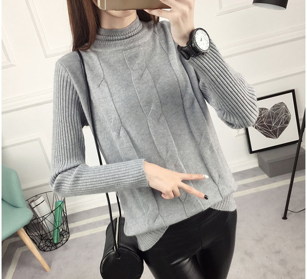 AD Woman Winter Sweater Thick New 2018 Thermal Layer Wear Deals for only S$59.9 instead of S$0