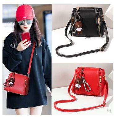 c0ce998d97ca On the new summer small bag female 2018 new Korean shoulder bag Messenger  bag mini simple
