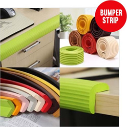 Baby Safety Table desk Edge Corner Cushion Guard Strip Softener Bumper Protector/Baby table Edge Guard Strip foam Bumper Collision glass Protector Cushion