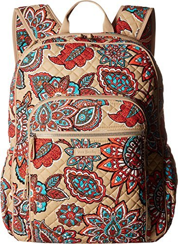 Qoo10 - Vera Bradley Iconic Campus Backpack 2ac817733a725