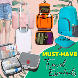 [ORTE] Sale ON★Travel Bag★Backpack★Pouch★Luggage Organizer★TSA Locks★ Luggage Bag★Express Delivery