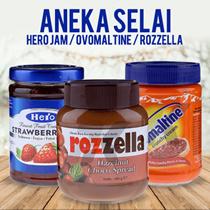 Aneka Selai / Hero Jam / Ovomaltine / Rozzella