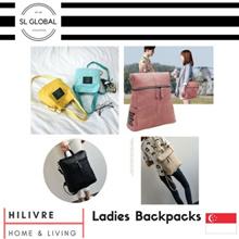 [SG Seller] Ladies Korea Japan design cute and trendy fashion backpacks/bags