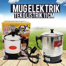 Mug Elektrik Q2 11 Cm / Alat Masak Praktis Mug Elektrik / Panci Elektrik / Teko Listrik 11 Cm / Teko Pemanas Praktis