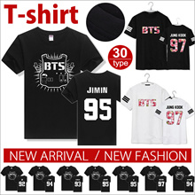 BUY 2 Free shipping BIG PROMO LL268 BTS with a short sleeved T-shirt / Dress / short sleeved support