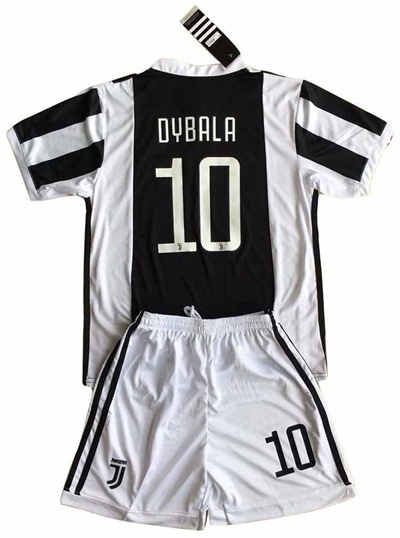 sports shoes a1e53 86902 S_C_Z Dybala 10 Juventus Home Soccer Jersey Shorts Youth/7-8 years/