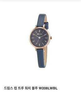 [Mini gold] watch W208LWBL / fashion
