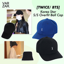 [TWICE/ BTS] Korea Star S/S Overfit Ball Cap Collection (Celebrity Wear)
