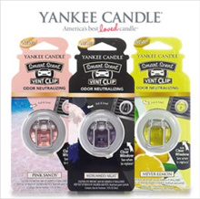[Brand New from USA] Yankee Candle smart scent vent clip/ car fragrance/ air freshener